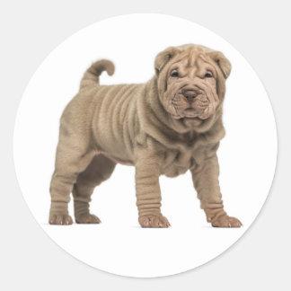 Love Shar Pei Dog Sticker / Seals