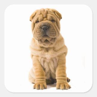 Love Shar Pei Puppy Dog Sticker / Seals