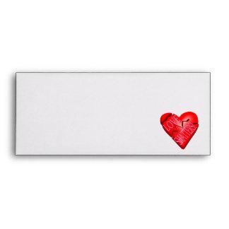 Love Shatters Envelope