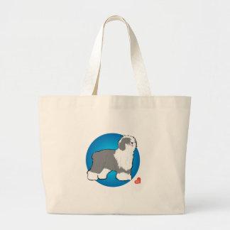 Love Sheepdog Canvas Bags