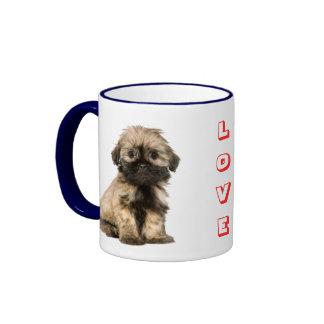 Love Shih Tzu Puppy Dog Coffee Cup Mug