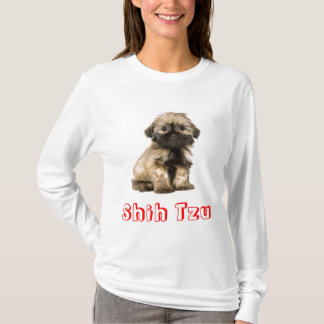 Love Shih Tzu Puppy Dog Tee Shirt