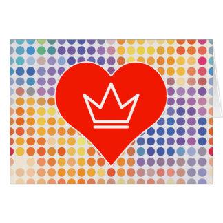 Love Shiny Greeting Card