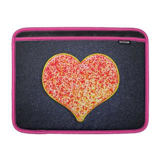 "LOVE -Shiny Pink gold - Macbook Air 13"" Horizontal MacBook Air Sleeve"