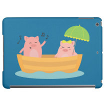 Love Ship Piggies iPad Air Cover