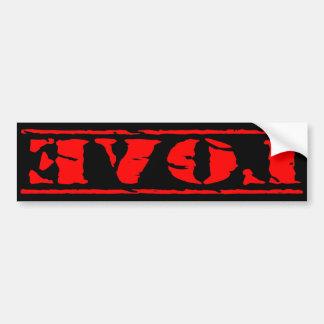 Love Shirt Bumper Sticker