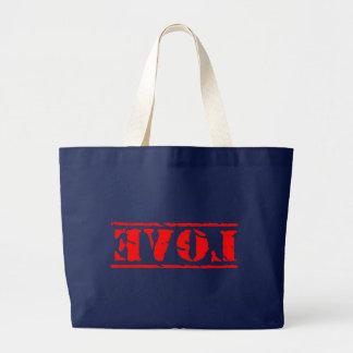 Love Shirt Large Tote Bag