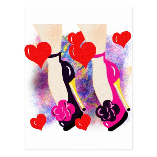 Love Shoes - Fun Lesbian Gifts &  Accessories Post Card