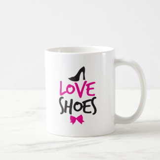 Love Shoes with cute little bow Coffee Mug