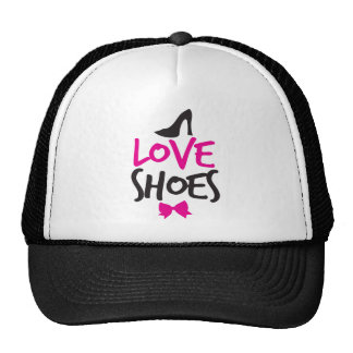 Love Shoes with cute little bow Trucker Hat