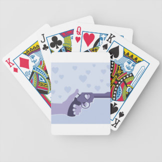 Love Shot vector Bicycle Playing Cards