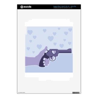 Love Shot vector Decals For iPad 3
