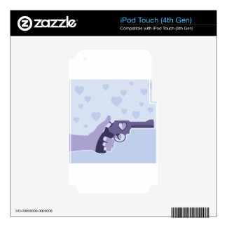 Love Shot vector iPod Touch 4G Decals