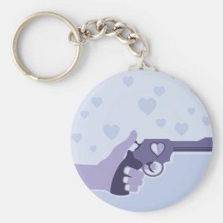 Love Shot vector Keychain
