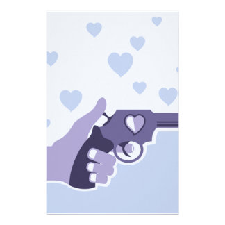 Love Shot vector Stationery