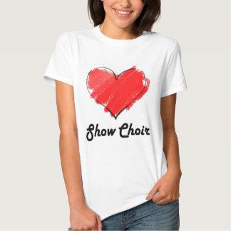 Love Show Choir T Shirt