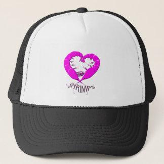 love shrimps trucker hat