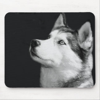 Love Siberian Husky Puppy Dog Custom Mouse Pad