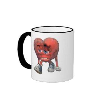 Love Sick Heart Mug mug