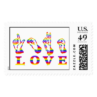 LOVE Sign Language - Hand Sign Tees, Gifts Postage