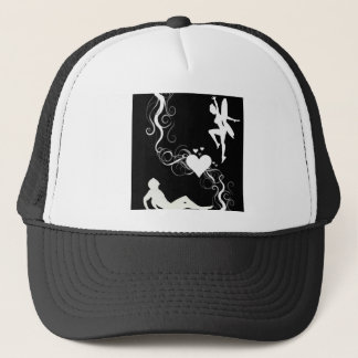 Love Silhouette Trucker Hat