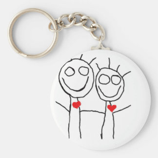 love.... simple yet adorable! keychain
