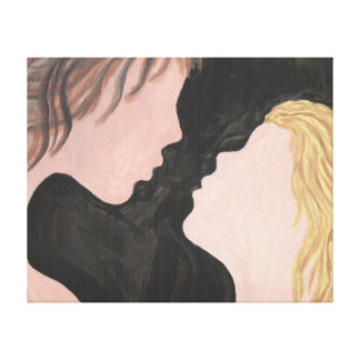 Love Simplicity Canvas Print