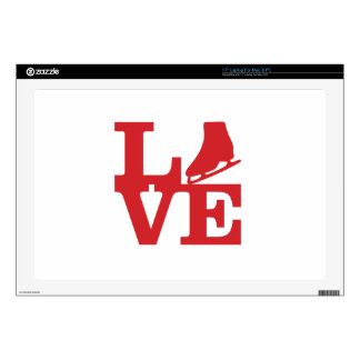 """Love Skate Decal For 17"""" Laptop"""