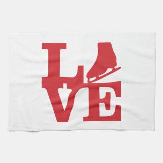Love Skate Kitchen Towel
