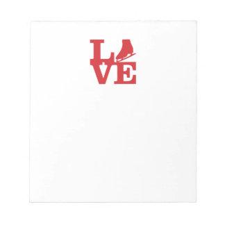 Love Skate Notepad