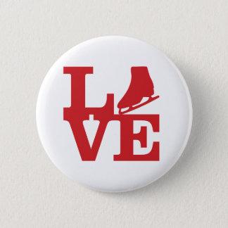 Love Skate Pinback Button