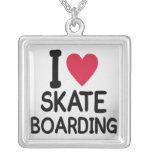 love-skateboarding-women necklaces