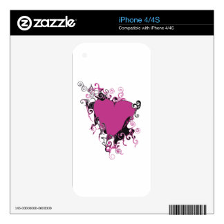 LOVE SKINS FOR iPhone 4S