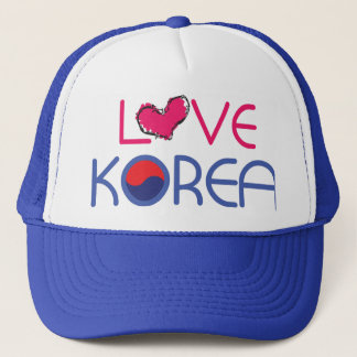 love skorea Custom Photo Trucker Hat