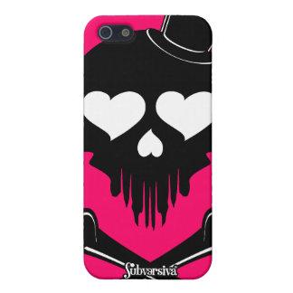 Love-Skull-003 Case For iPhone 5
