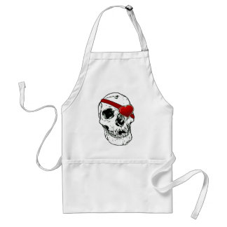 Love Skull Adult Apron