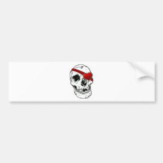 Love Skull Bumper Sticker