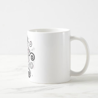 love skull classic white coffee mug