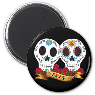 Love Skulls Magnet