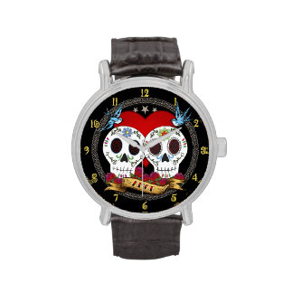 Love Skulls Watch