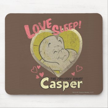 Love Sleep Mouse Pad by casper at Zazzle