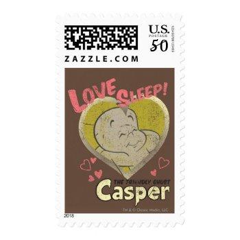 Love Sleep Postage by casper at Zazzle