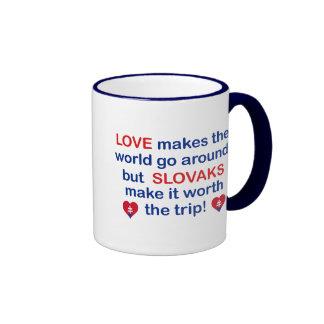 Love Slovaks Coffee Mugs