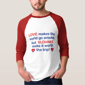 Love Slovaks T-Shirt