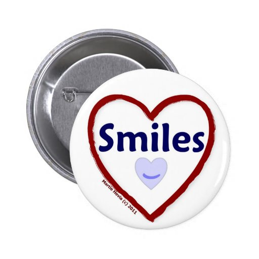 Love Smiles Pins