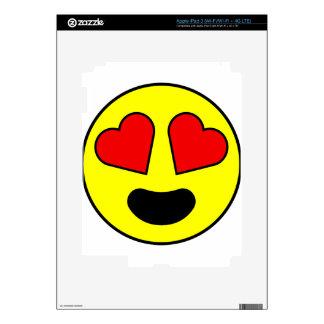 Love Smiley iPad 3 Skin