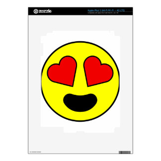 Love Smiley Skin For iPad 3