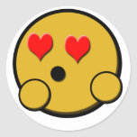 Love Smiley Sticker