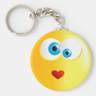 Love Smilie Keychain