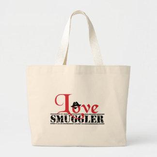 """Love Smuggler"" Carryall Large Tote Bag"